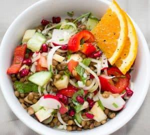 salade pour renforcer l'immunité