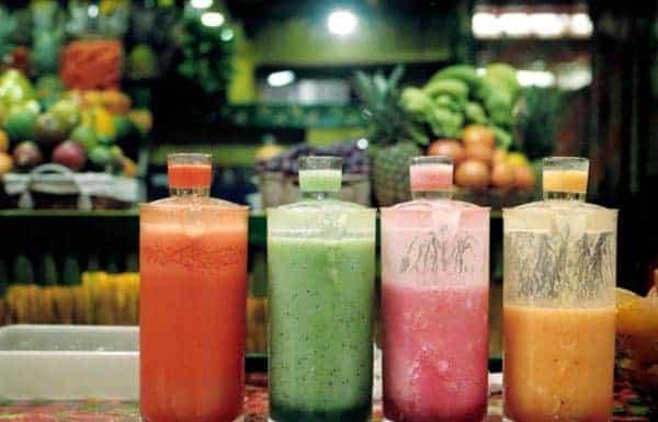 Cocktails de fruits et légumes pour maigrir