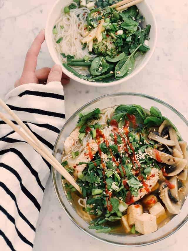 les légumes dans le régime végétarien des pâtes pour les végétariens