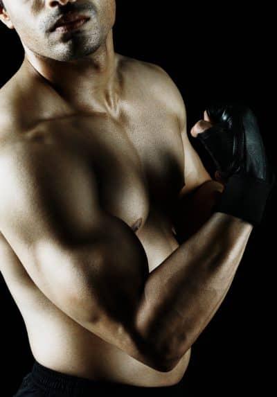 entraînement des muscles du bras