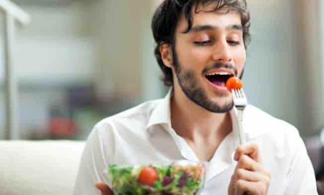 le régime alimentaire des hommes