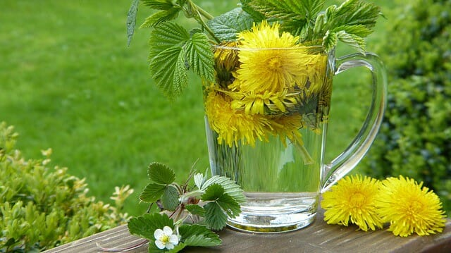 eau aux herbes