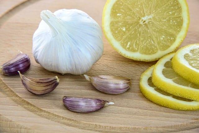 le citron et l'ail pour la résistance