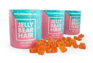 Jelly Bear Hair emballage