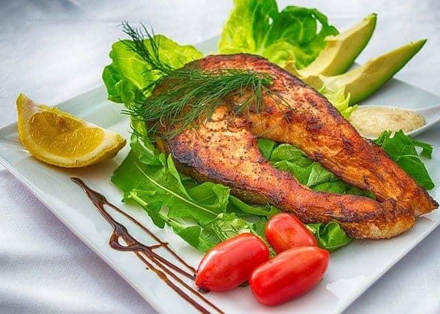 poisson cuit au four