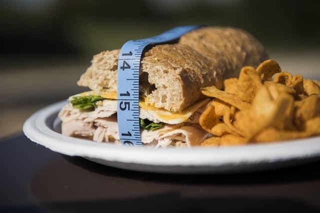 la valeur calorifique du sandwiach