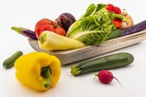 poivre, courgette, chou, radis, pom