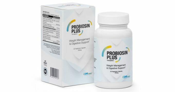 Probiosin Plus emballage et boîte