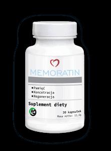 Memoratin, supplément de mémoire et de concentration