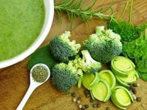 soupe au brocoli