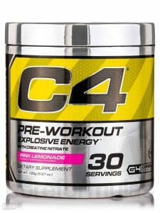Pre workout Cellucor C4 Original