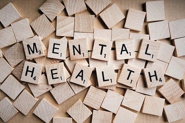 Mental Health Inscription au Scrabble