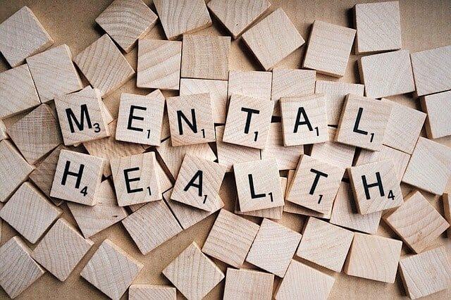 Mental Health Inscription au Scrabble