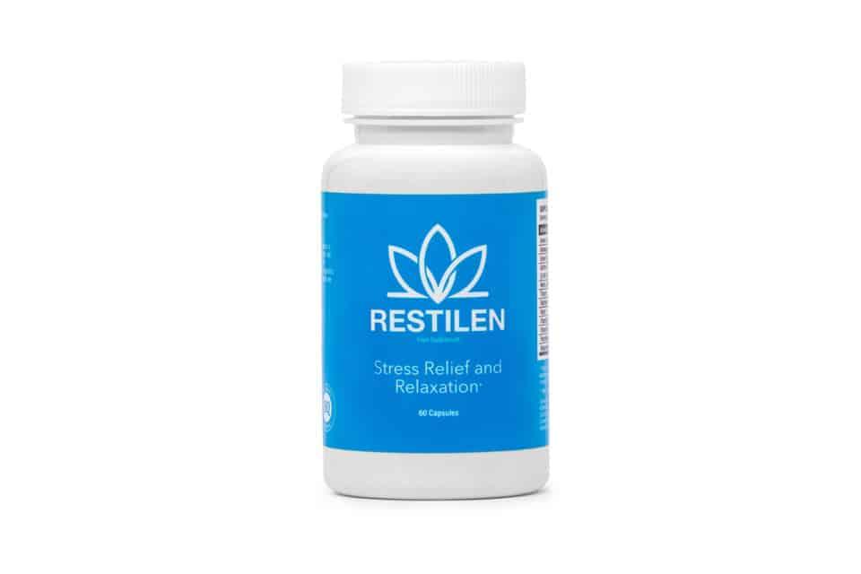Restilen agent adaptable, pilules contre le stress