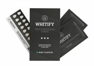 Bandes de blanchiment des dents Whitify Strips