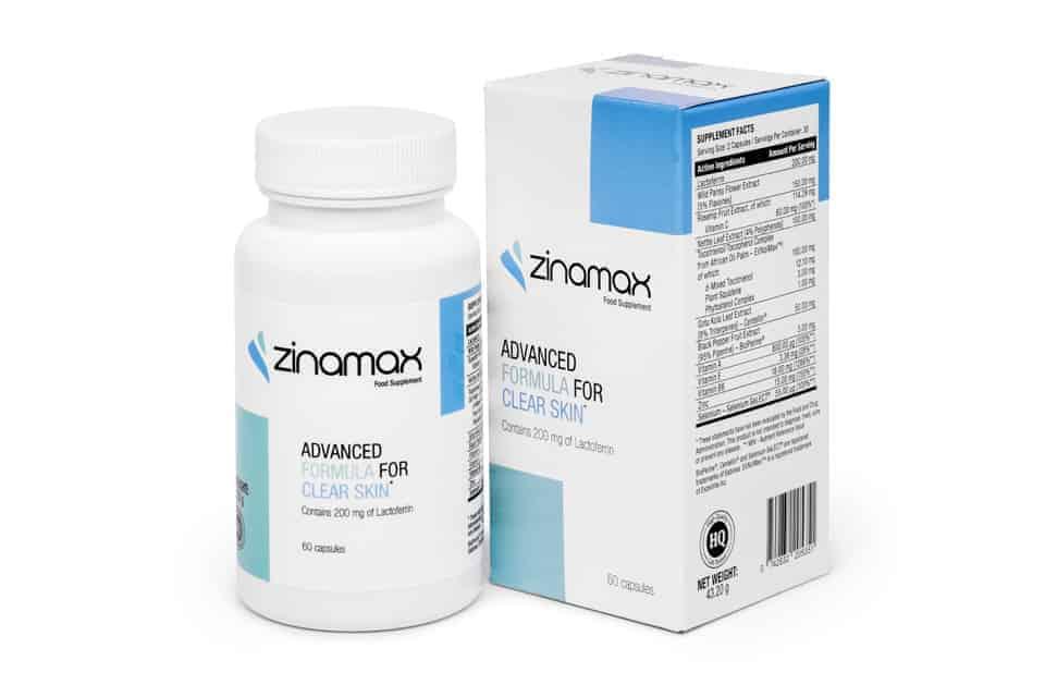 Zinamax Comprimés contre l'acné